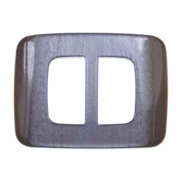 Gürtelschnalle S-19 flieder grau