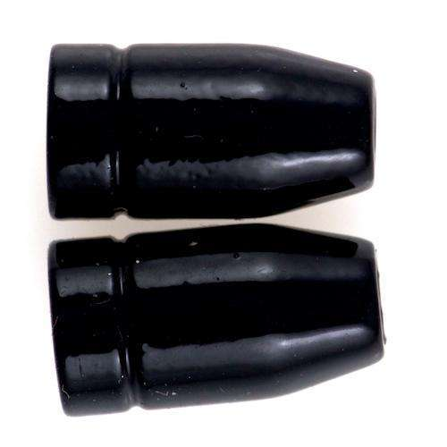Schlichte Kordelenden KOE-10schw Variante