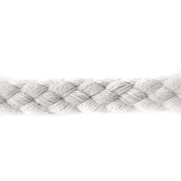 Kordel Baumwolle hell grau