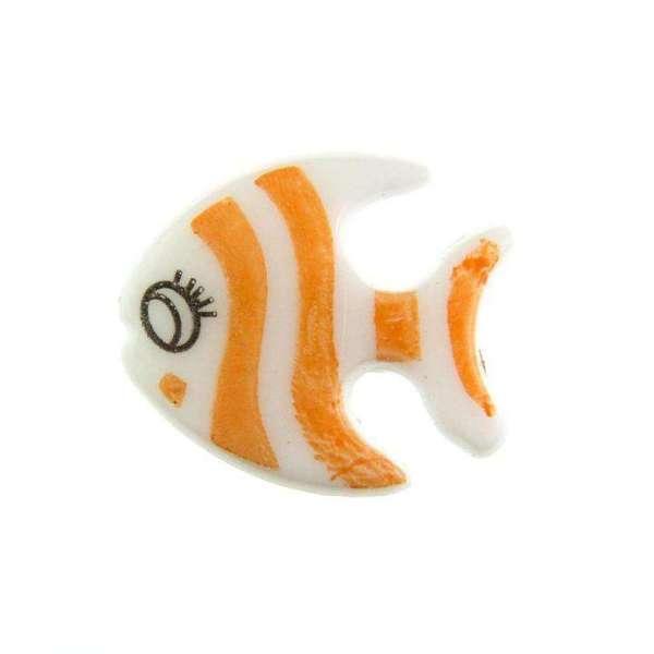 Kinderknöpfe kaufen Fisch KK-61 orange