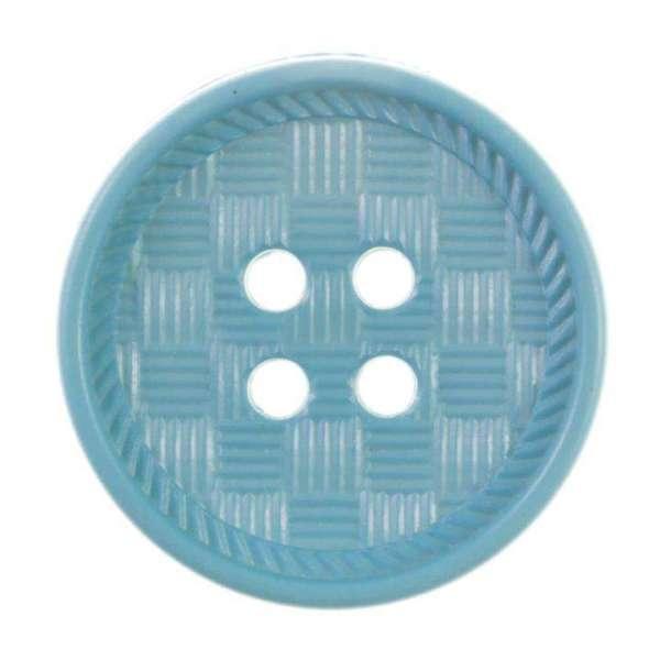 Knöpfe mit schraffierter Oberfläche blau KT-55