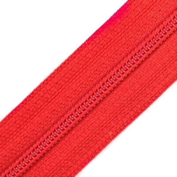 Reißverschluss 3mm Spirale rot