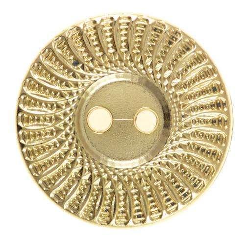 Knöpfe mit Muster gold KGO-