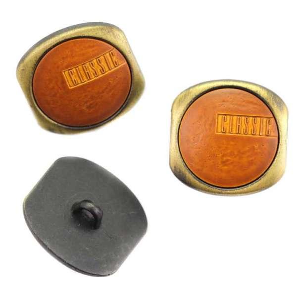 Modische Knöpfe mit Leder imitat MK-259
