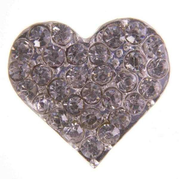 Herz mit Straßsteinchen