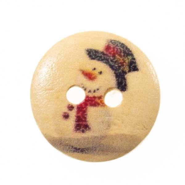 Knöpfe mit Weihnachtsmotiv hk-136-17