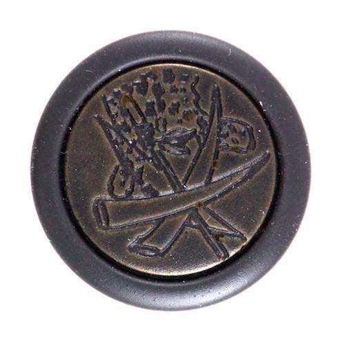 Knöpfe mit Metalleinsatz TK-156