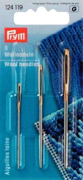 Woll und Smyrnanadeln