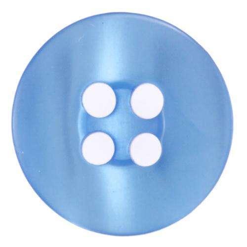 Knöpfe 4 Loch schlicht mit Schimmer KBL-37