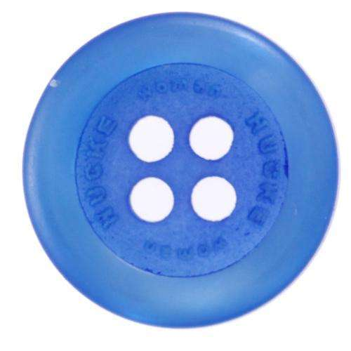 Knöpfe mit Aufschrift blau KBL-30