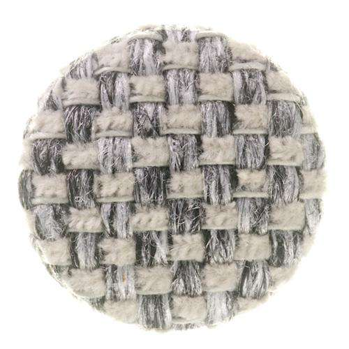 kn pfe online kaufen polster knopf mit stoff grau sfpo 25. Black Bedroom Furniture Sets. Home Design Ideas