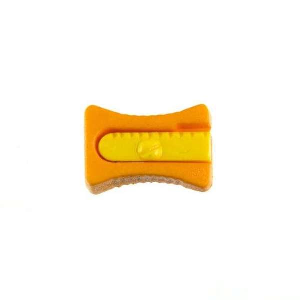 Kinderknöpfe kaufen Bleistiftspitzer-KK-152-orange-5