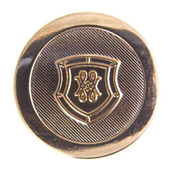 Druckknöpfe Wappen gold NK-123g