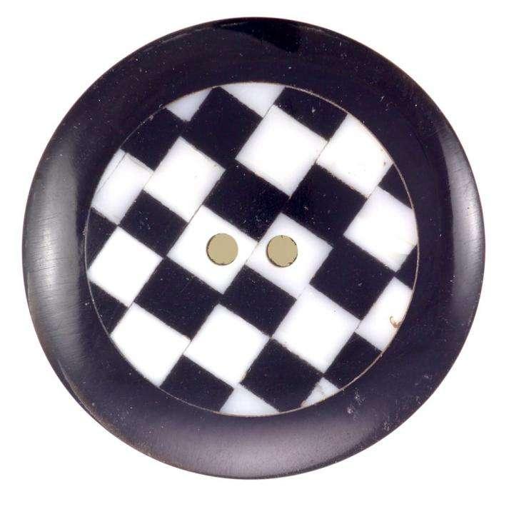 kn pfe online kaufen horn knopf schachbrett hk 153. Black Bedroom Furniture Sets. Home Design Ideas