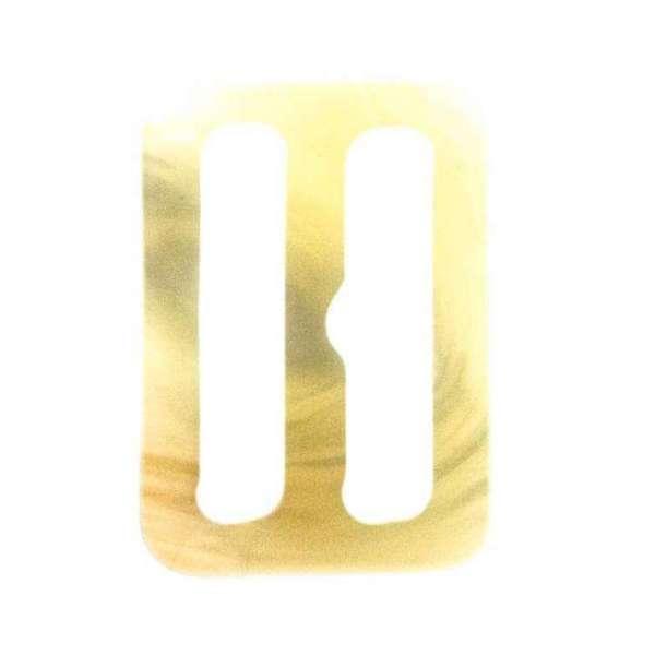 Gürtelschnalle S-18 beige