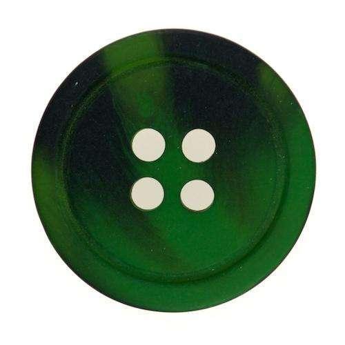 Knöpfe mit dunkler Melierung grün KGR-49